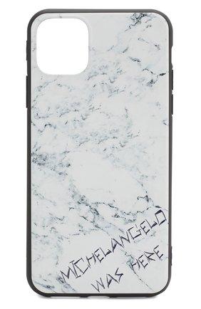 Мужской чехол для iphone 11 pro max MISHRABOO белого цвета, арт. Michelangelo 11 Pro Max | Фото 1