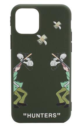 Мужской чехол для iphone 11 MISHRABOO зеленого цвета, арт. Hunters 11 | Фото 1