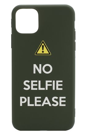 Мужской чехол для iphone 11 MISHRABOO зеленого цвета, арт. No selfie 11 | Фото 1
