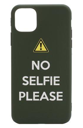 Мужской чехол для iphone 11 pro max MISHRABOO зеленого цвета, арт. No selfie 11 Pro Max   Фото 1