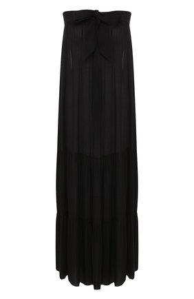 Женское платье-макси MARLIES DEKKERS черного цвета, арт. 19974 | Фото 1