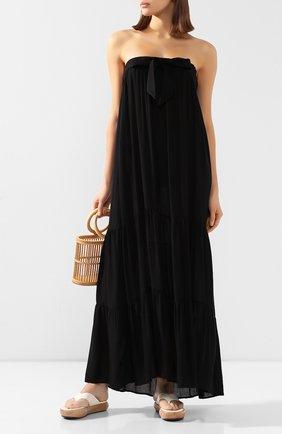 Женское платье-макси MARLIES DEKKERS черного цвета, арт. 19974 | Фото 2