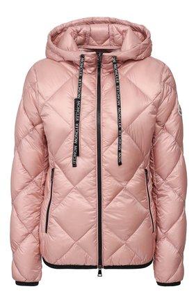 Женский пуховая куртка oulx MONCLER розового цвета, арт. F1-093-1A536-00-C0381 | Фото 1