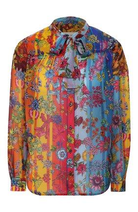 Женская блузка  GOLDEN GOOSE DELUXE BRAND разноцветного цвета, арт. G36WP047.A1 | Фото 1