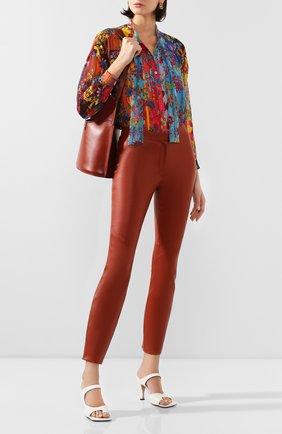 Женская блузка  GOLDEN GOOSE DELUXE BRAND разноцветного цвета, арт. G36WP047.A1 | Фото 2