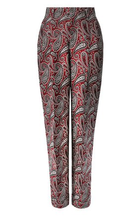 Женские брюки GOLDEN GOOSE DELUXE BRAND бордового цвета, арт. G36WP017.A4 | Фото 1