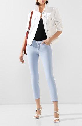 Женские джинсы ESCADA SPORT светло-голубого цвета, арт. 5033154 | Фото 2