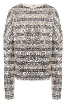 Женская пуловер IN THE MOOD FOR LOVE серебряного цвета, арт. ALEXANDRA T0P | Фото 1