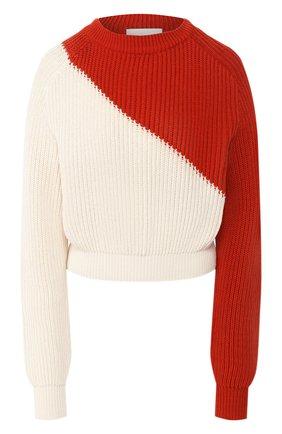 Женская хлопковый пуловер  TWINS FLORENCE разноцветного цвета, арт. TWFPE20MAG0010B | Фото 1