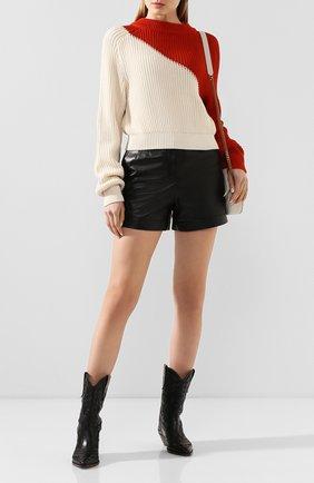 Женская хлопковый пуловер  TWINS FLORENCE разноцветного цвета, арт. TWFPE20MAG0010B | Фото 2
