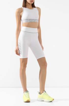 Женские шорты FENDI белого цвета, арт. FAB202 AB3Z | Фото 2