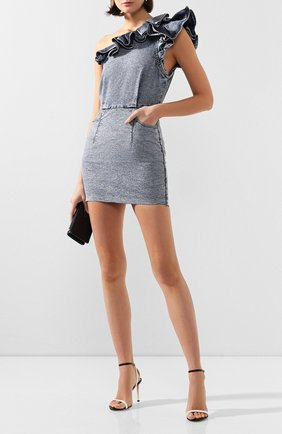 Женское джинсовое платье IRO синего цвета, арт. WM33SAGAMA | Фото 2