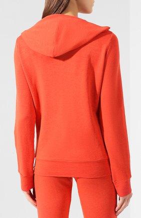 Женский толстовка MONROW оранжевого цвета, арт. HJ321AFT   Фото 4
