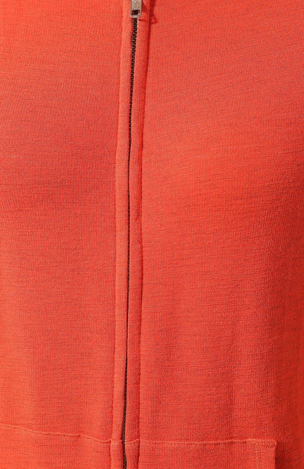 Женский толстовка MONROW оранжевого цвета, арт. HJ321AFT   Фото 5
