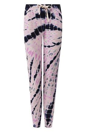 Женские хлопковые джоггеры MONROW фиолетового цвета, арт. HB0448-12 | Фото 1