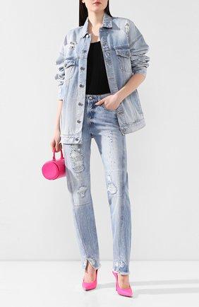 Женские джинсы ZADIG&VOLTAIRE синего цвета, арт. SJCA3007F | Фото 2
