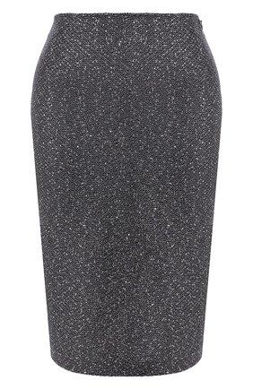 Женская юбка ST. JOHN серого цвета, арт. K72Z021 | Фото 1