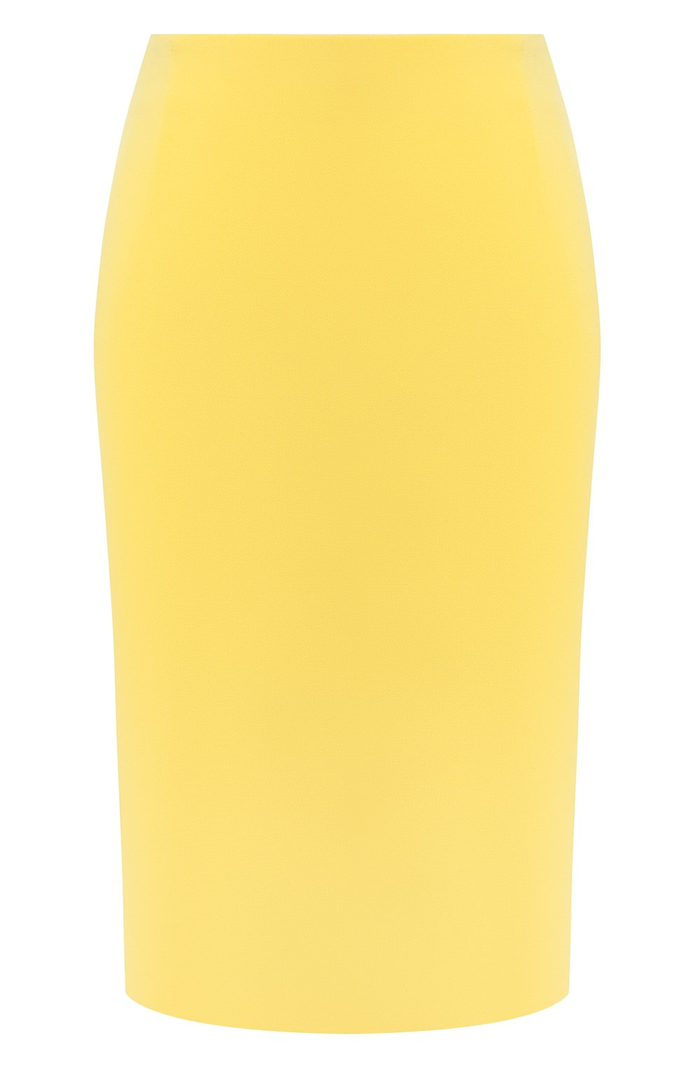 Женская юбка BOSS желтого цвета, арт. 50409644   Фото 1