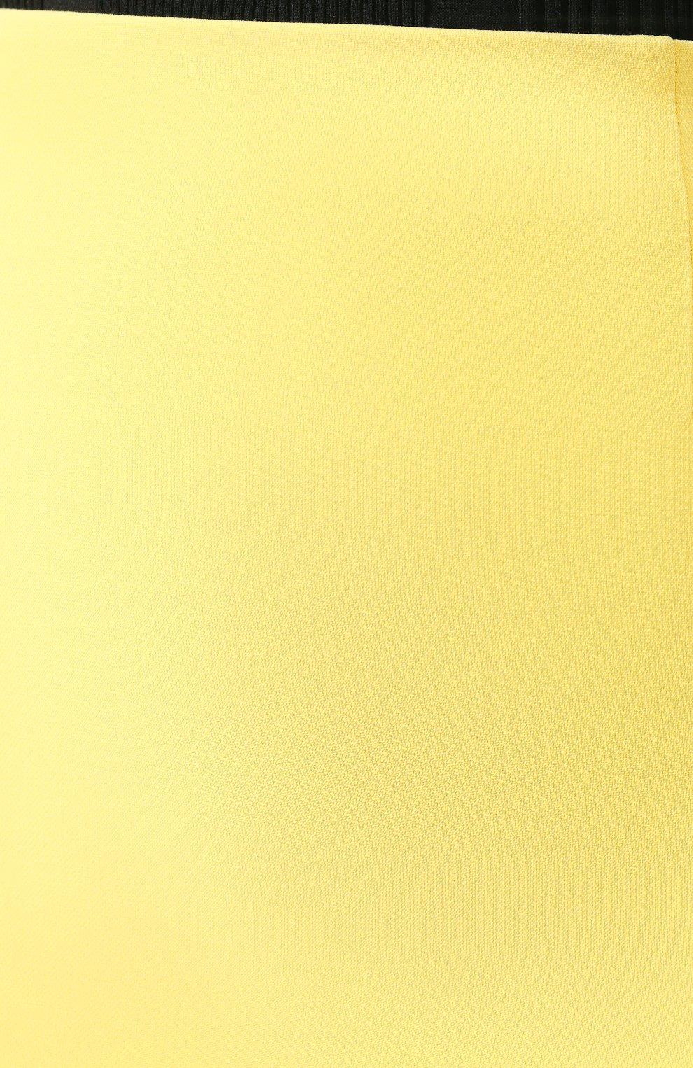 Женская юбка BOSS желтого цвета, арт. 50409644   Фото 5