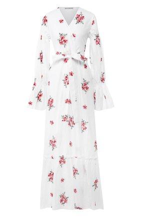 Женское хлопковое платье MASTERPEACE белого цвета, арт. MP-SS20-02 | Фото 1