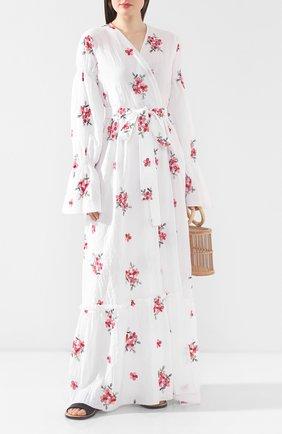 Женское хлопковое платье MASTERPEACE белого цвета, арт. MP-SS20-02 | Фото 2