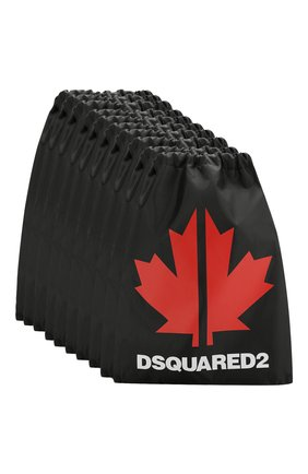 Детская комплект из 10-ти рюкзаков DSQUARED2 черного цвета, арт. 990D25-000DQ/CG | Фото 1