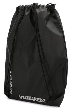 Детская комплект из 10-ти рюкзаков DSQUARED2 черного цвета, арт. 990D25-000DQ/CG | Фото 2