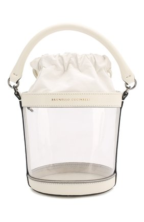 Детская сумка BRUNELLO CUCINELLI прозрачного цвета, арт. BH942B005 | Фото 1