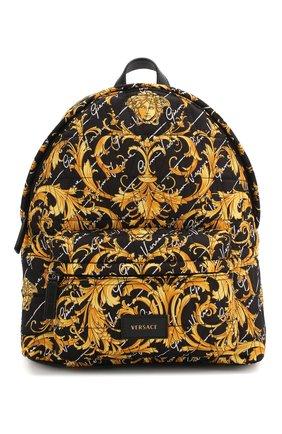 Детская рюкзак VERSACE разноцветного цвета, арт. YIX00004/YB00281 | Фото 1