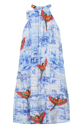 Детское платье STELLA JEAN KIDS голубого цвета, арт. 20E/J/JF/AB45/2712/4A-6A   Фото 2