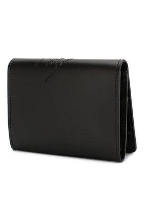 Мужской кожаный футляр для кредитных карт BERLUTI черного цвета, арт. N204275 | Фото 2
