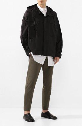 Мужская куртка ISABEL BENENATO черного цвета, арт. UW52S20 | Фото 2