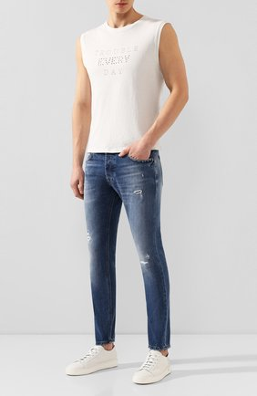 Мужские джинсы DON THE FULLER синего цвета, арт. DHS0/YAREN/DTF/45 | Фото 2