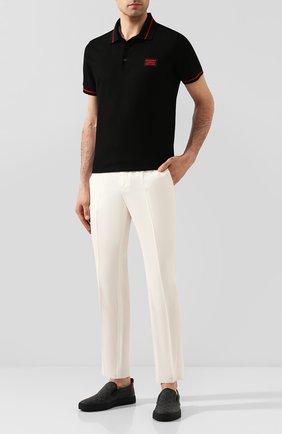 Мужской шерстяные брюки TRIPLE RRR белого цвета, арт. SS20 P014 3014 | Фото 2