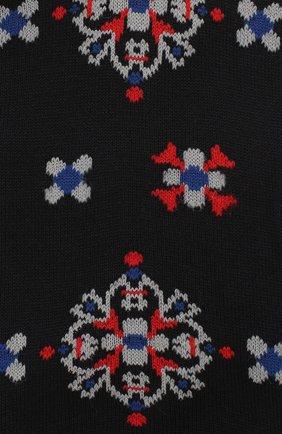 Мужские хлопковые носки COLLIROSSI темно-синего цвета, арт. UFI4050-20/1 | Фото 2