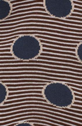 Мужские хлопковые носки COLLIROSSI коричневого цвета, арт. UFI4050-21/1 | Фото 2