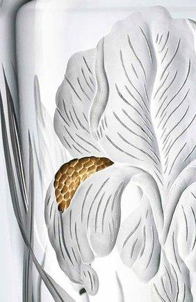 Мужского ваза haute couture ирис BACCARAT прозрачного цвета, арт. 2 812 370 | Фото 2