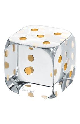 Пресс-папье игральный кубик jeu BACCARAT прозрачного цвета, арт. 2 813 749 | Фото 1