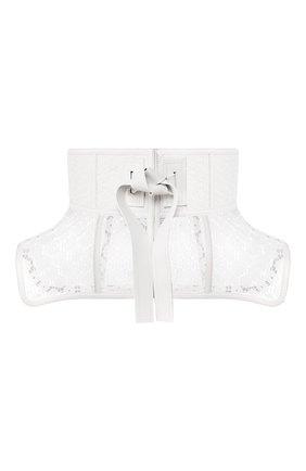 Женский пояс obi LOEWE белого цвета, арт. S540244X05 | Фото 1 (Материал: Текстиль; Кросс-КТ: Широкие)
