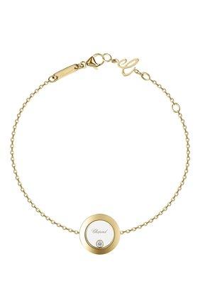 Женский браслет CHOPARD желтого золота цвета, арт. 85A017-0001 | Фото 1