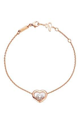 Женский браслет CHOPARD розового золота цвета, арт. 85A611-5001 | Фото 1