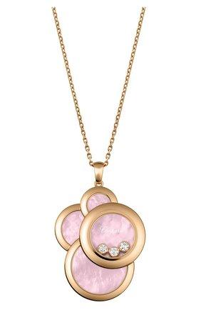 Женские кулон CHOPARD розового золота цвета, арт. 799769-5007 | Фото 1