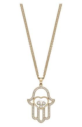 Женские кулон CHOPARD розового золота цвета, арт. 799898-5003 | Фото 1