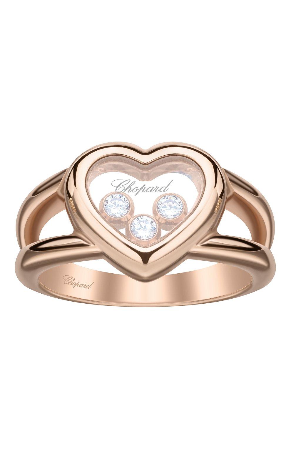Женские кольцо CHOPARD розового золота цвета, арт. 824611-5001   Фото 1