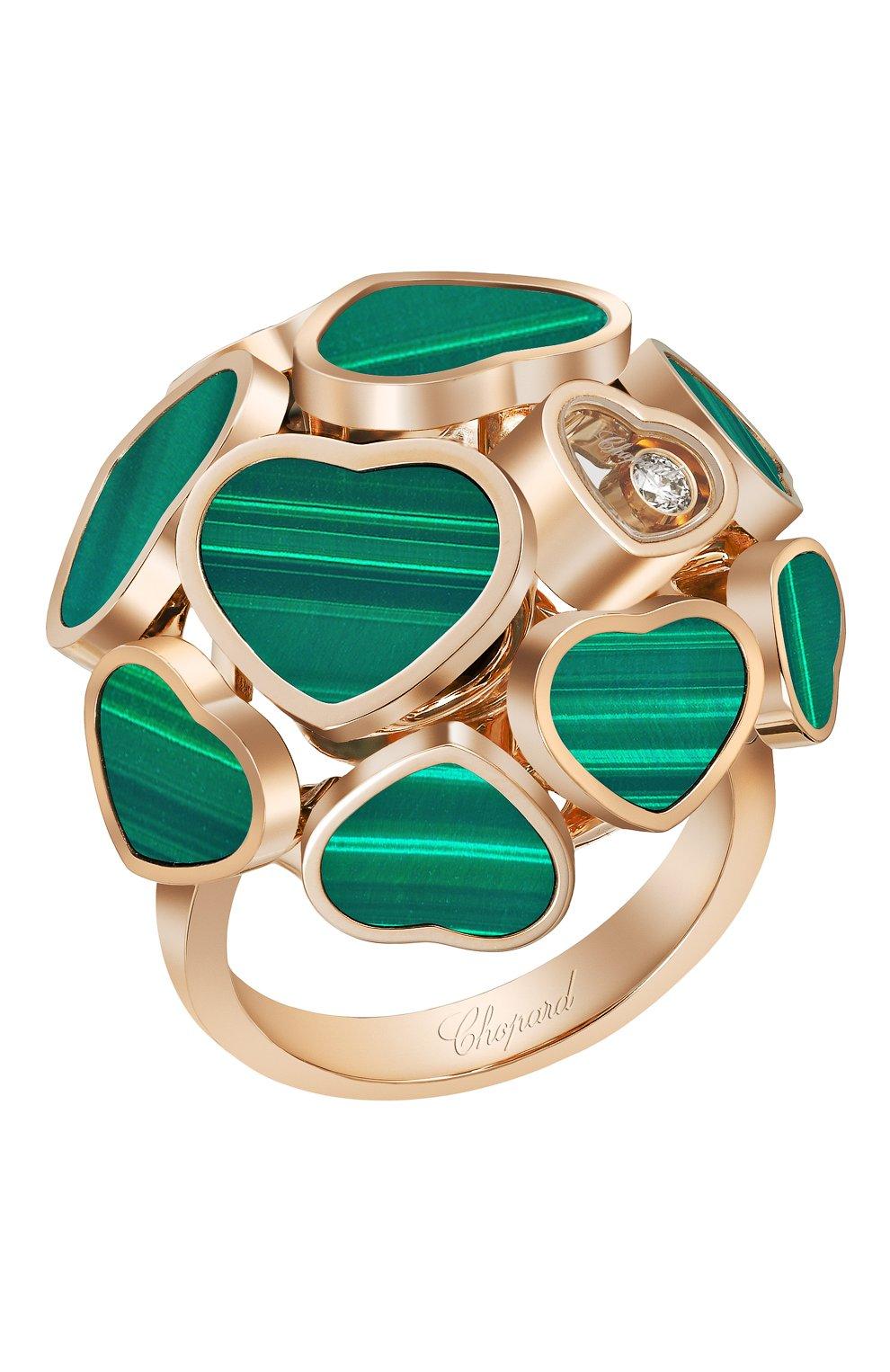 Женские кольцо CHOPARD розового золота цвета, арт. 827482-5130   Фото 1