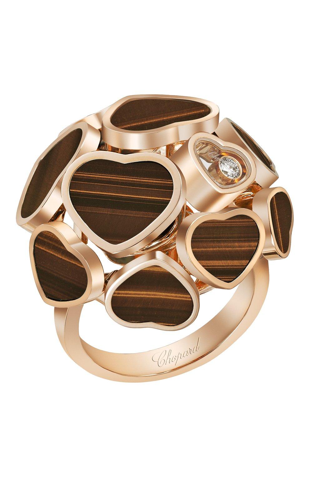 Женские кольцо CHOPARD розового золота цвета, арт. 827482-5230 | Фото 1