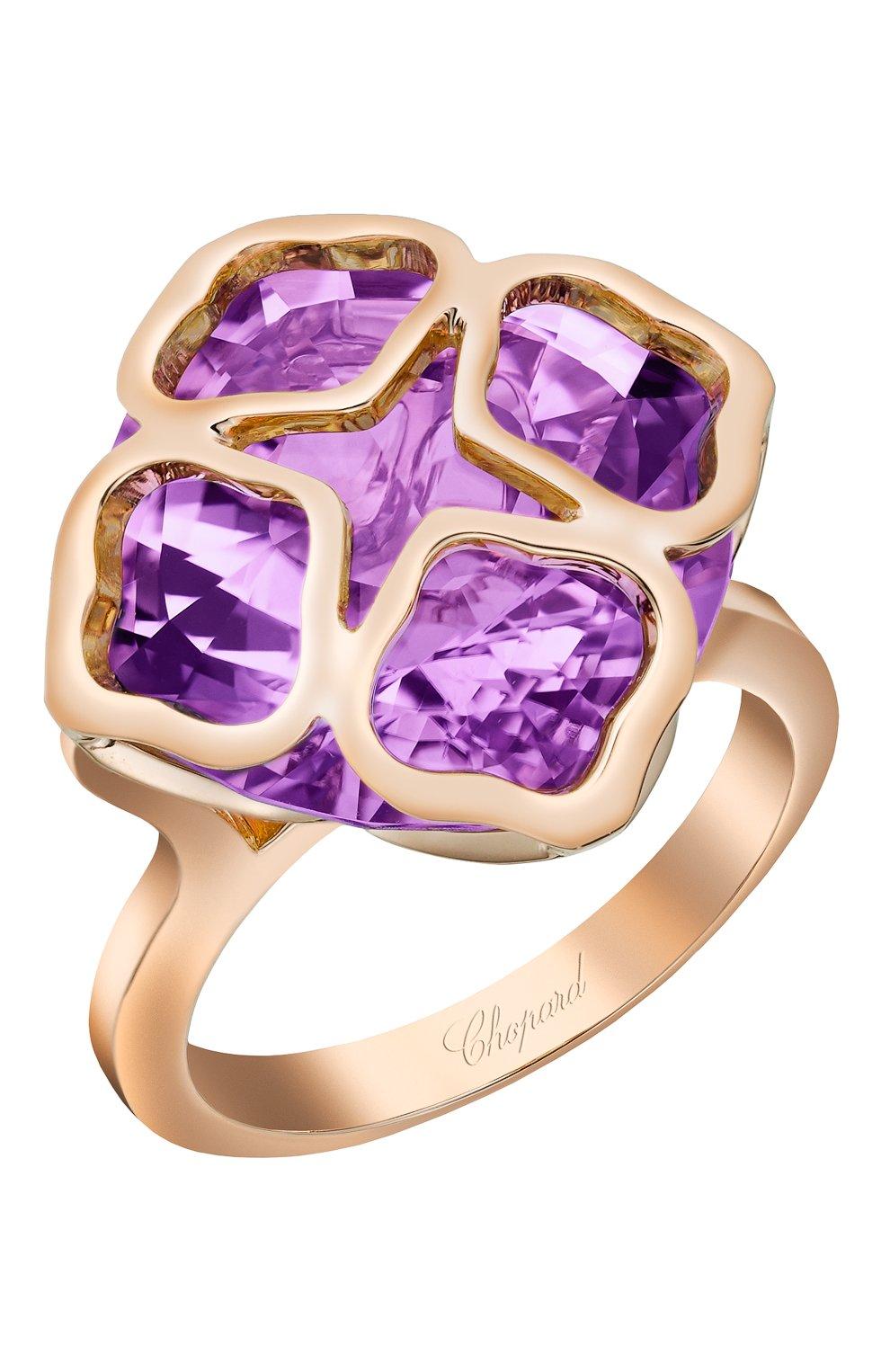 Женские кольцо CHOPARD розового золота цвета, арт. 829726-5039   Фото 1