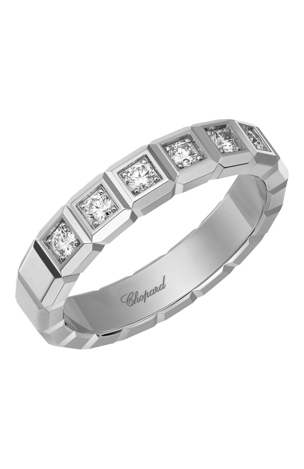 Женские кольцо CHOPARD белого золота цвета, арт. 829834-1039 | Фото 1