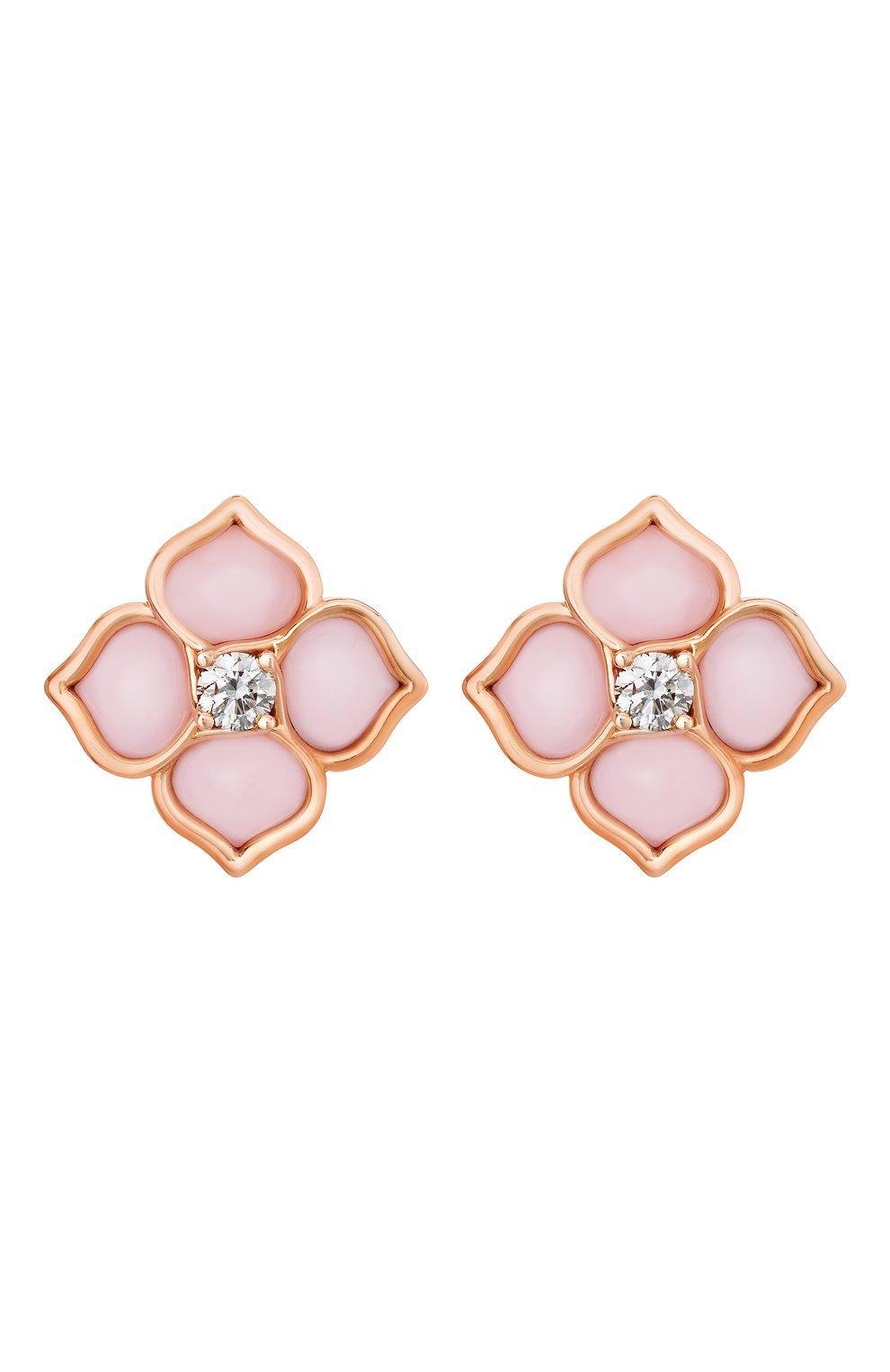 Женские серьги CHOPARD розового золота цвета, арт. 838242-5001   Фото 1