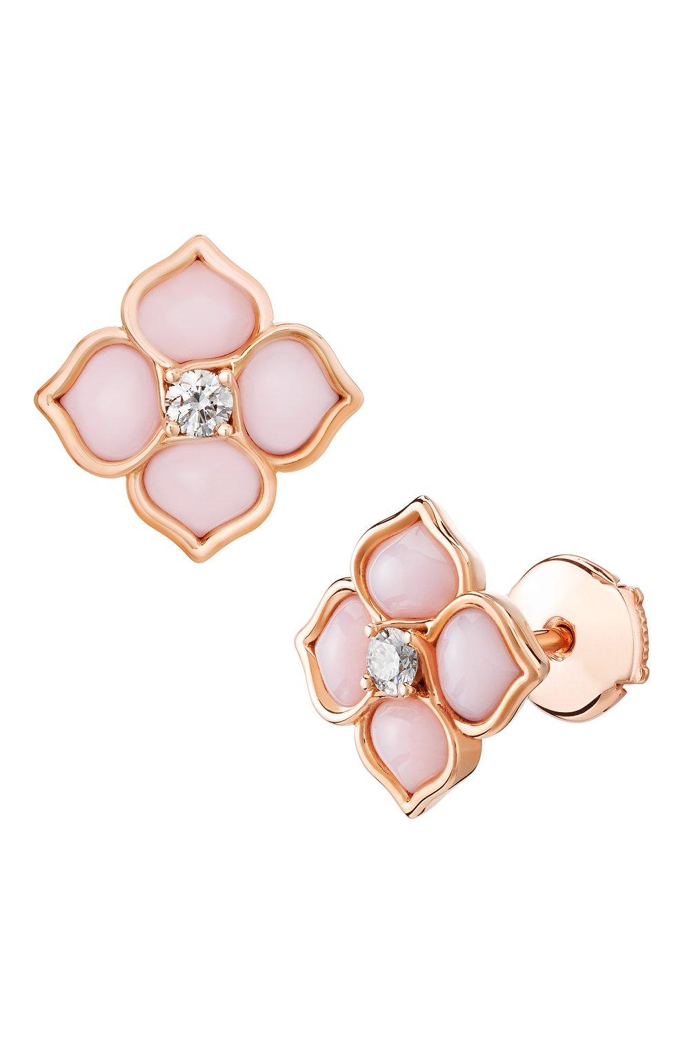 Женские серьги CHOPARD розового золота цвета, арт. 838242-5001   Фото 2